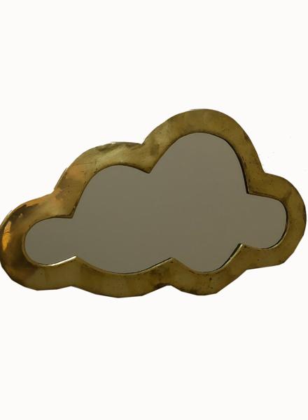 SAMPLE SALE - Cloud mirror gold
