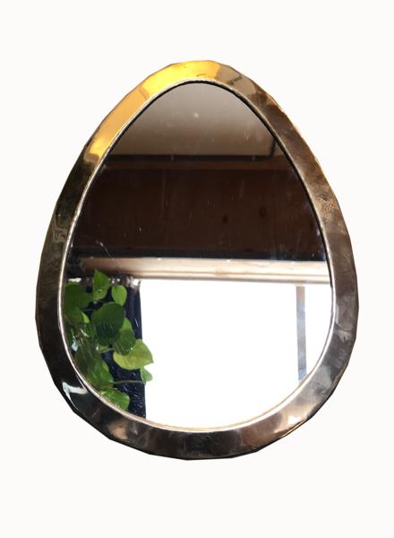 SAMPLE SALE - mirror drop S silver