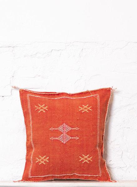 Vegan silk cactus pillow 180