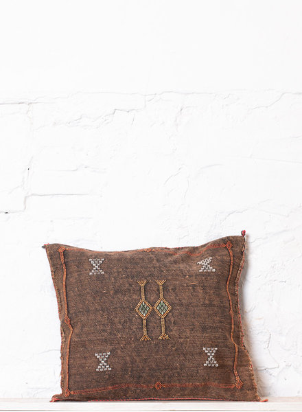 Vegan silk cactus pillow 189
