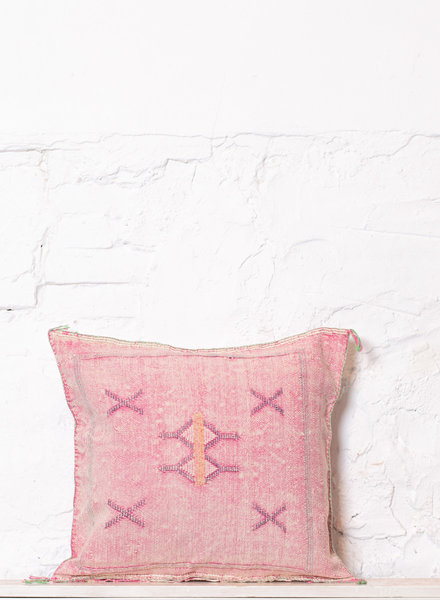 Vegan silk cactus pillow 194