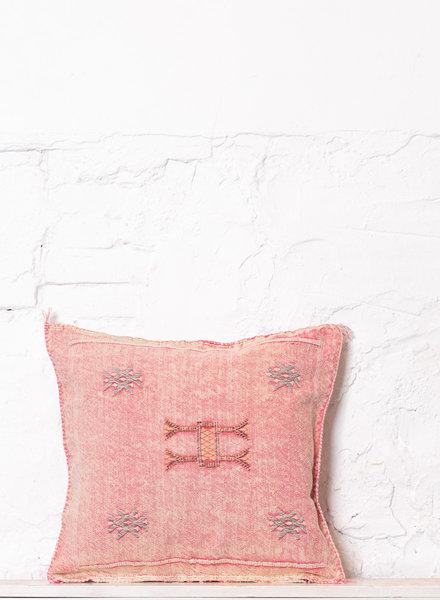 Vegan silk cactus pillow 196