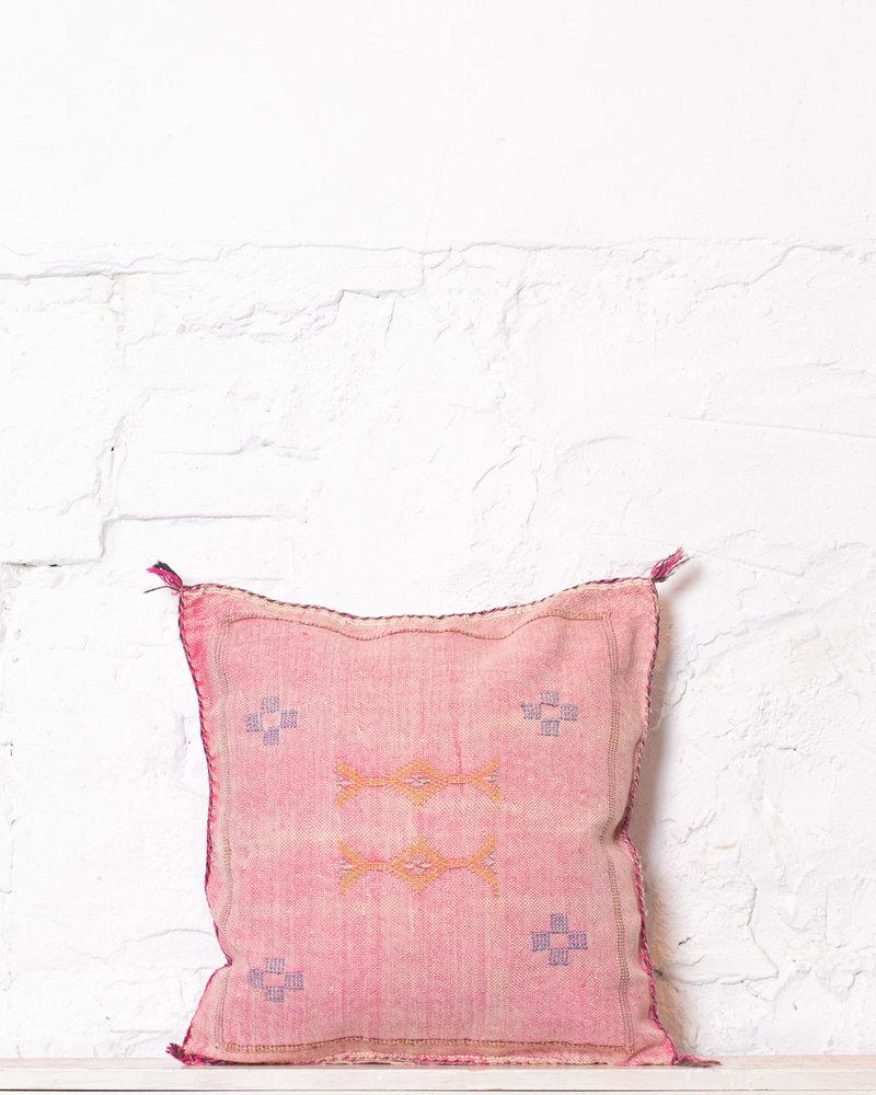 Vegan silk cactus pillow 197