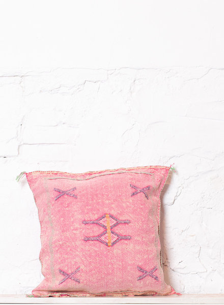 Vegan silk cactus pillow 198