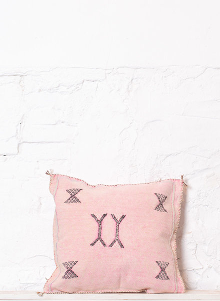 Vegan silk cactus pillow 202