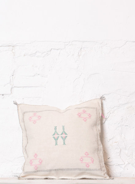 Vegan silk cactus pillow 207