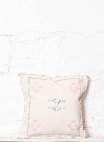 Vegan silk cactus pillow 208