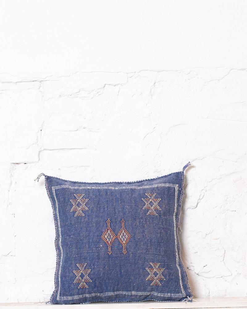 Vegan silk cactus pillow 216
