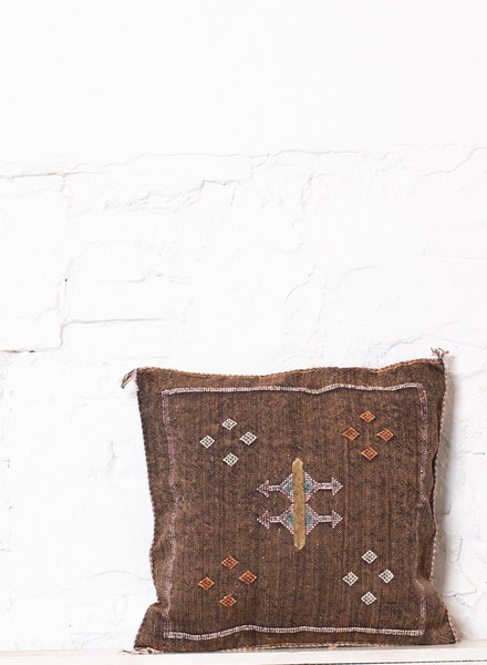 Vegan silk cactus pillow 227