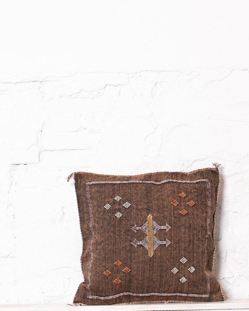 Vegan silk cactus pillow 227