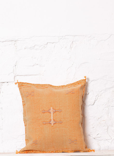 Vegan silk cactus pillow 231