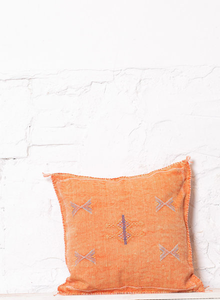 Vegan silk cactus pillow 232