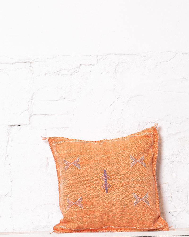 Vegan silk cactus pillow 232
