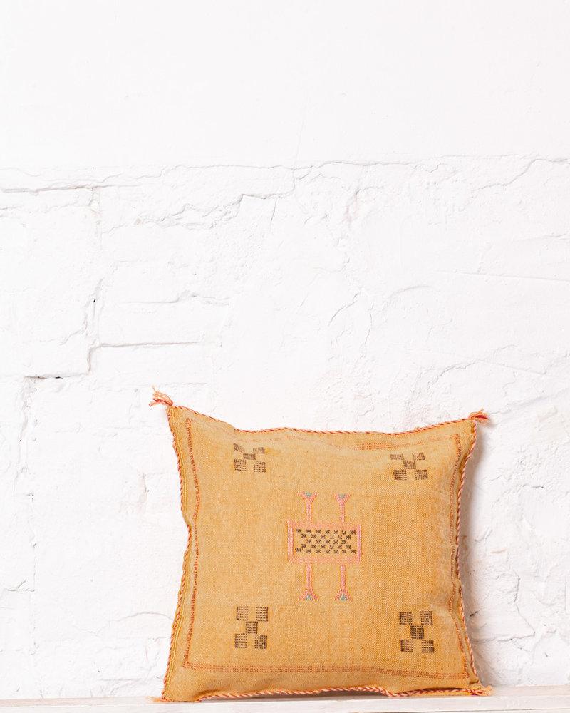 Vegan silk cactus pillow 233