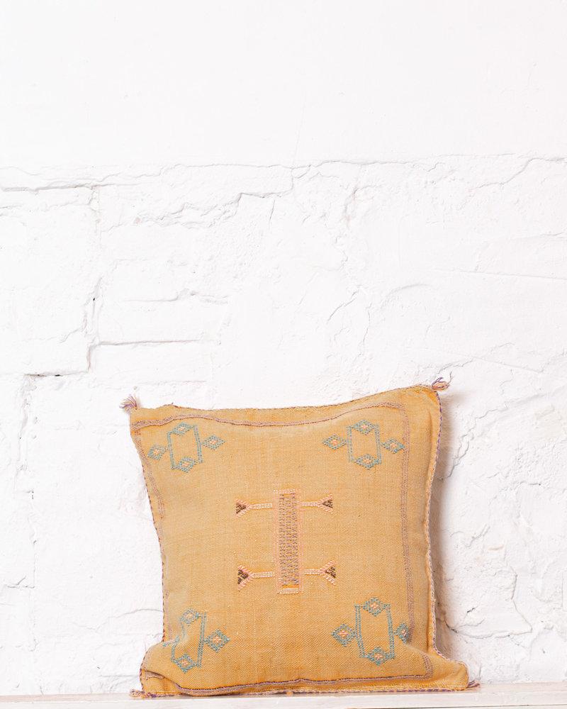 Vegan silk cactus pillow 234