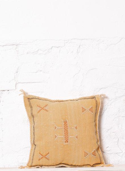 Vegan silk cactus pillow 236