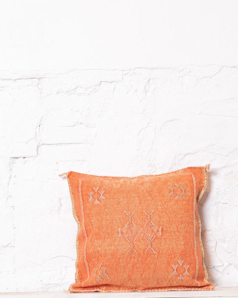 Vegan silk cactus pillow 237
