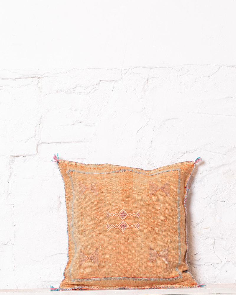 Vegan silk cactus pillow 238