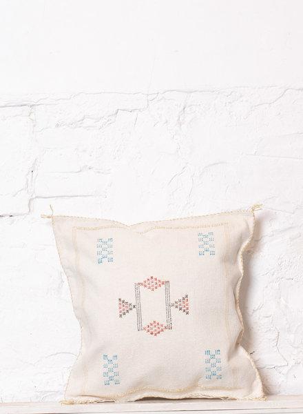 Vegan silk cactus pillow 239