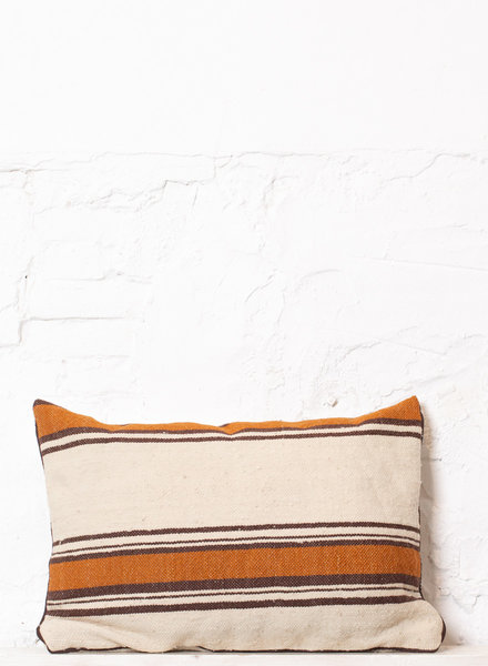 Berber stripe pillow 297