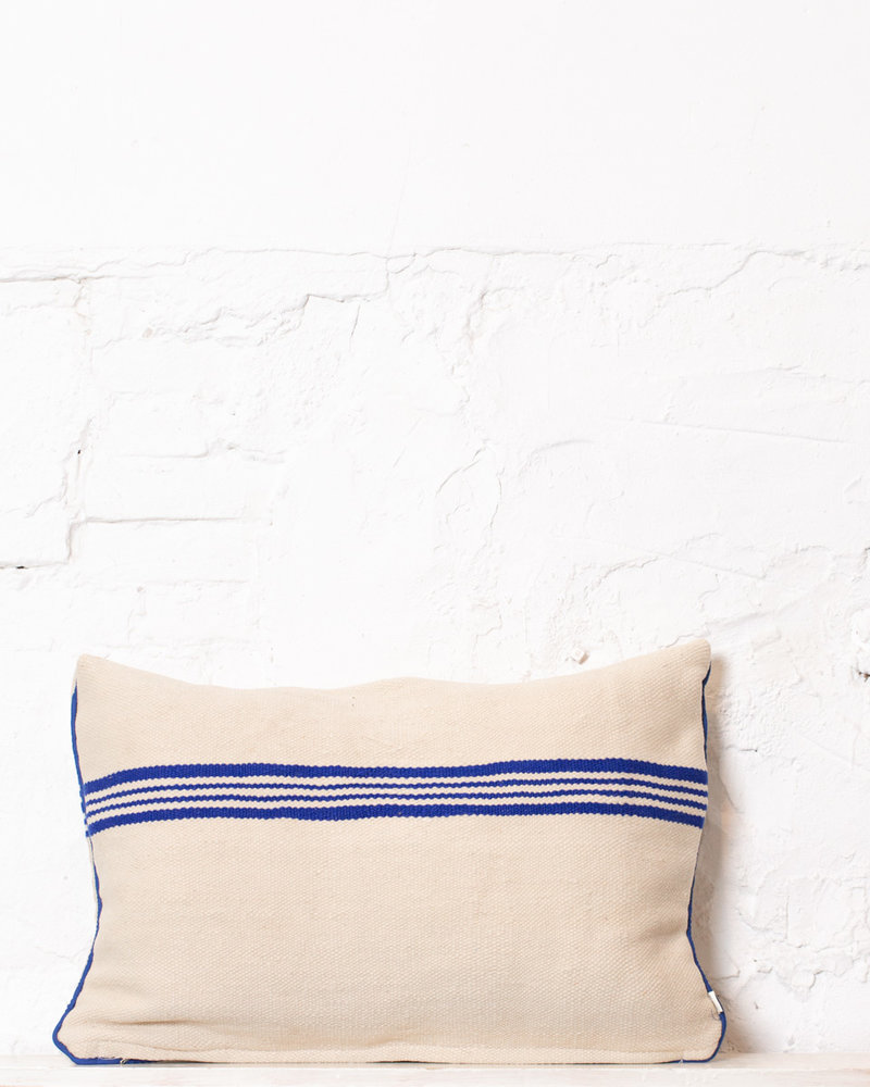 Authentic striped Berber pillow from Morocco 299