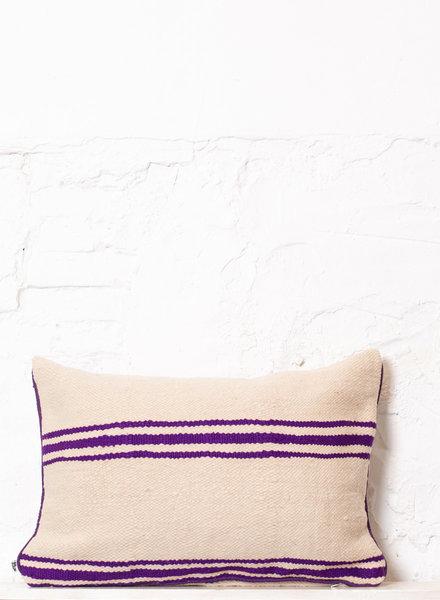 Berber stripe pillow 300