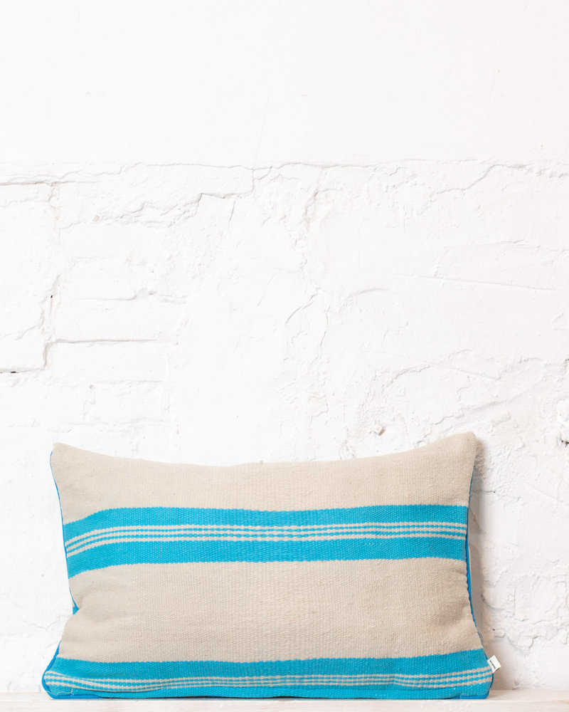 Authentic striped Berber pillow from Morocco 301