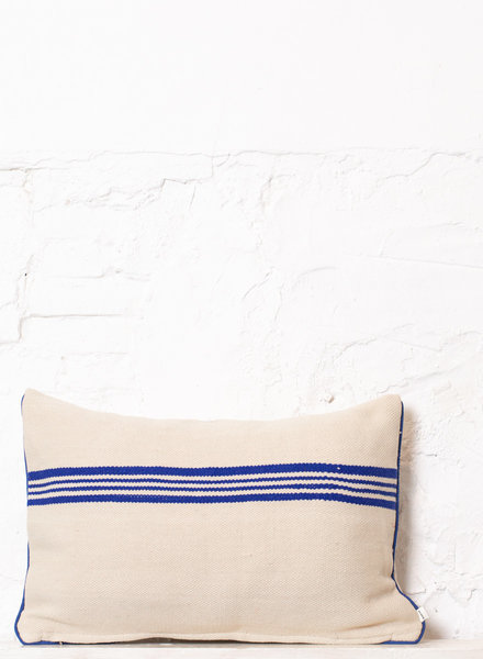 Striped pillow 302