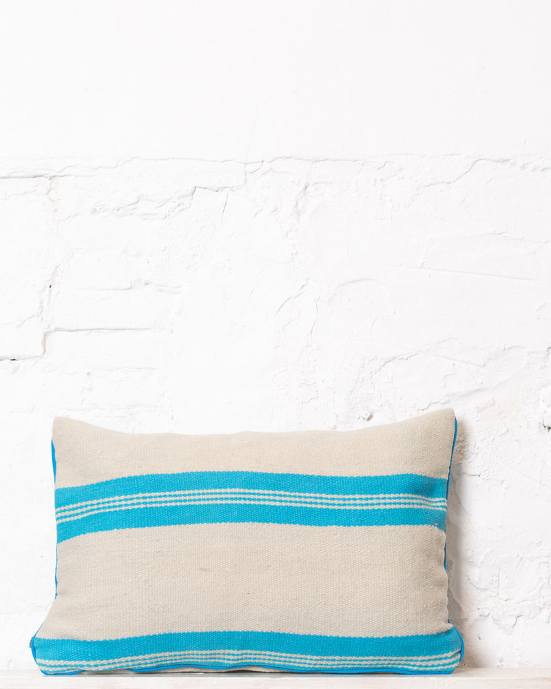 Authentic striped Berber pillow from Morocco 307