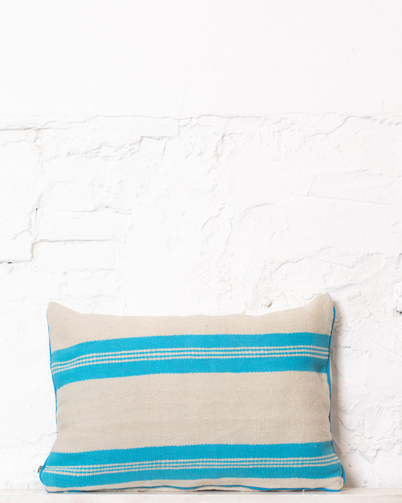 Authentic striped Berber pillow from Morocco 308