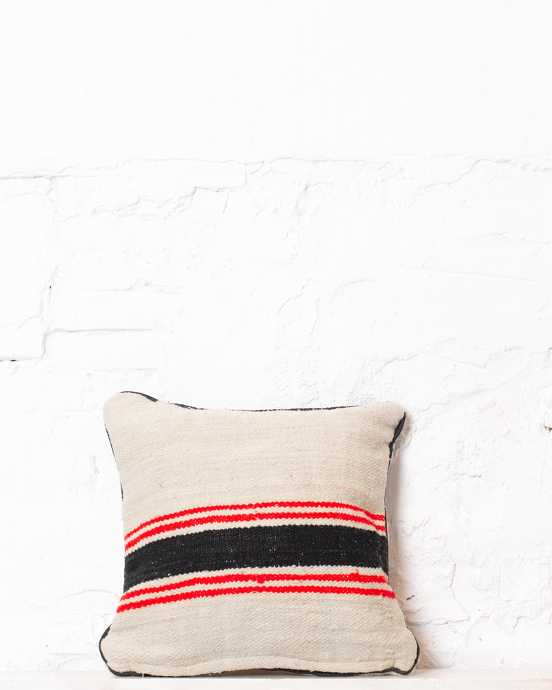 Authentic striped Berber pillow from Morocco 310
