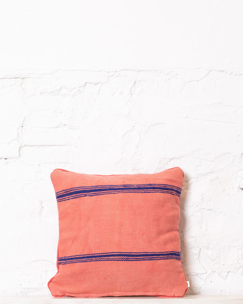 Authentic striped Berber pillow from Morocco 311