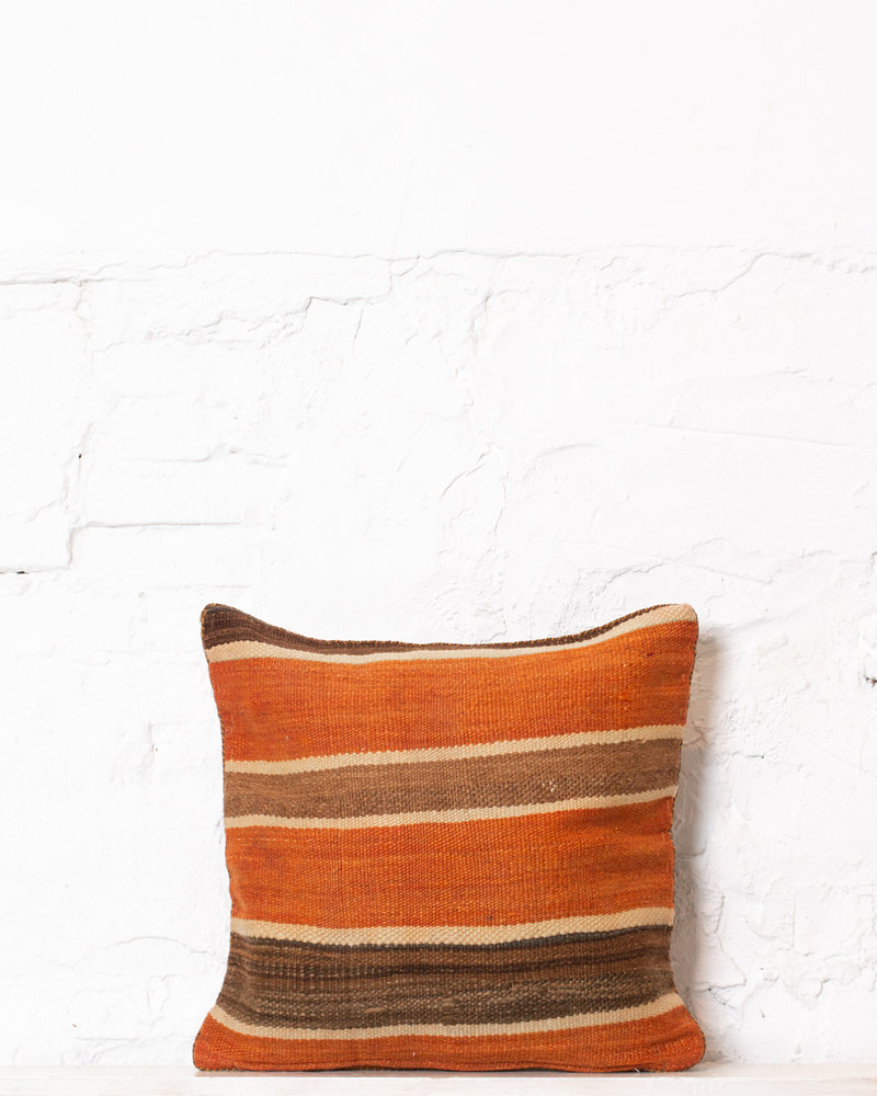 Authentic striped Berber pillow from Morocco 312