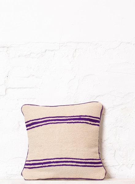 Berber stripe pillow 316