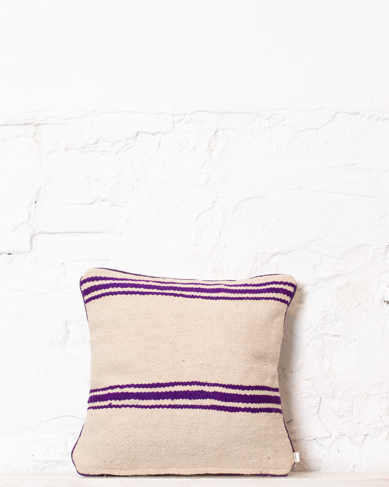 Authentic striped Berber pillow from Morocco 316