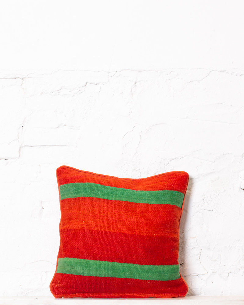Authentic striped Berber pillow from Morocco 322