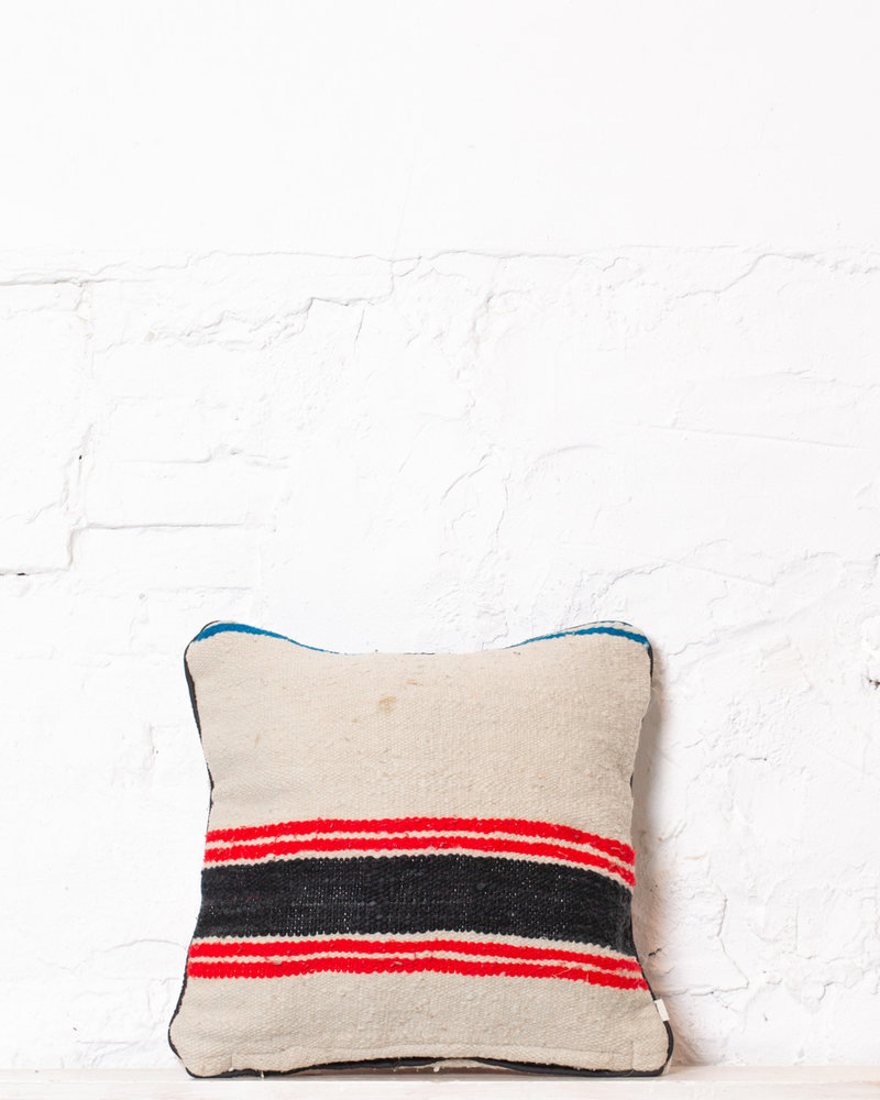 Authentic striped Berber pillow from Morocco 329