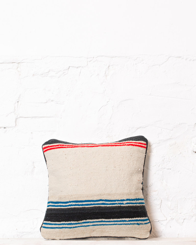 Authentic striped Berber pillow from Morocco 330