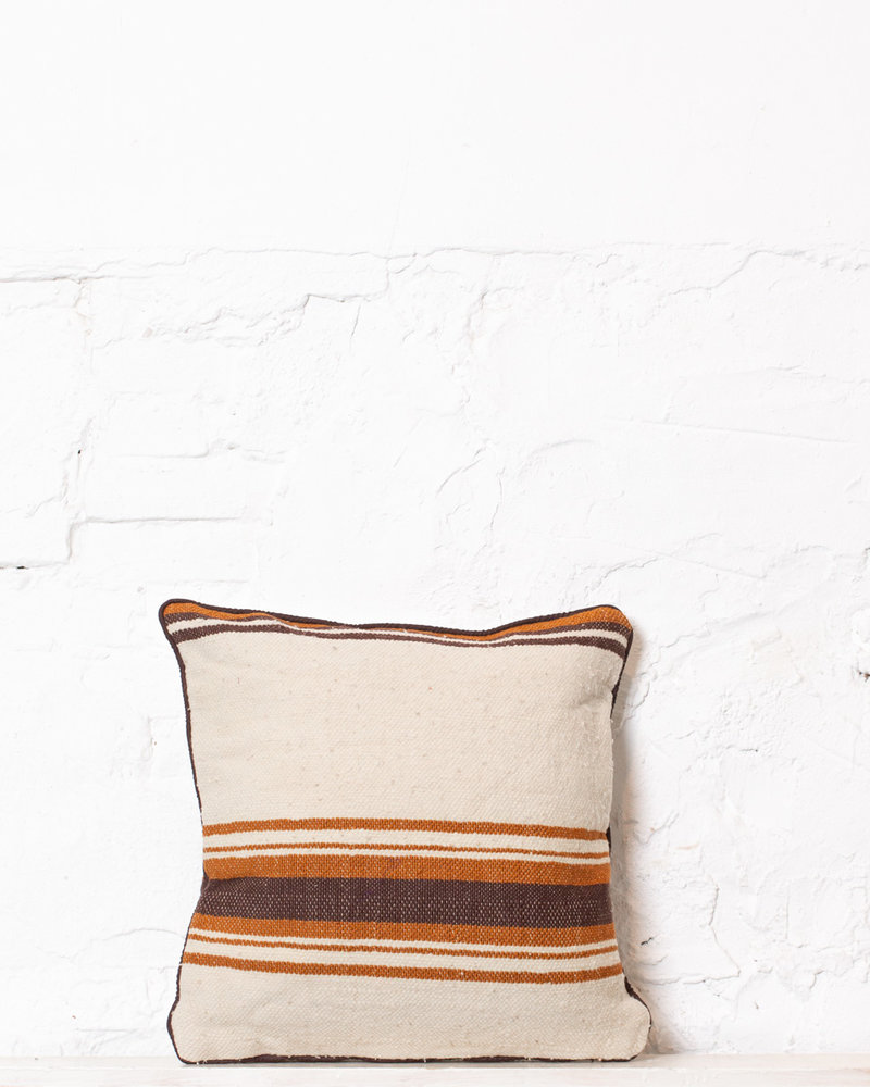 Authentic striped Berber pillow from Morocco 331