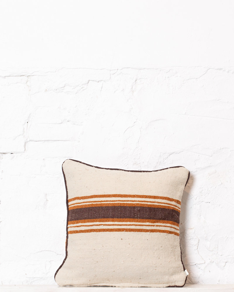 Authentic striped Berber pillow from Morocco 334