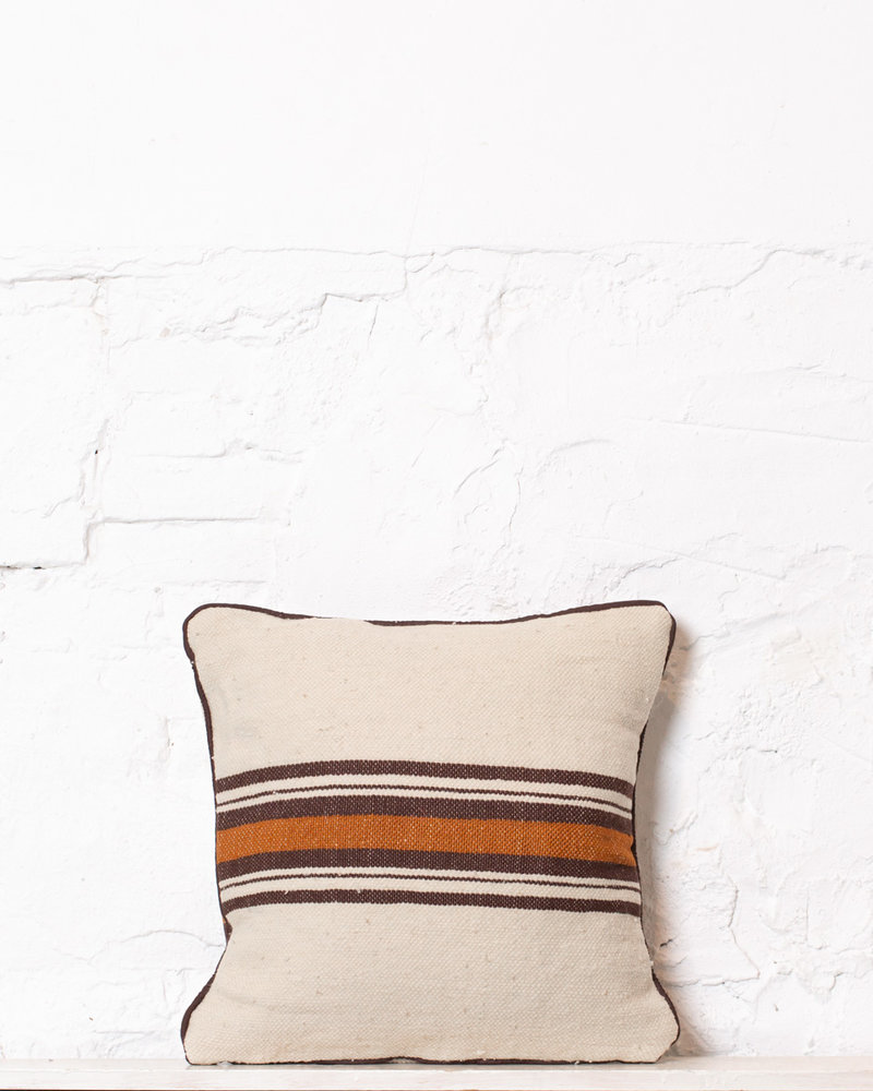 Authentic striped Berber pillow from Morocco 336