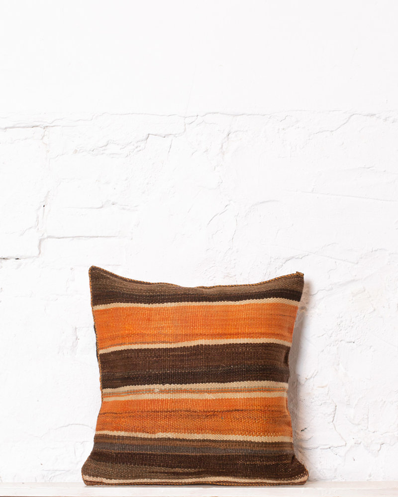 Authentic striped Berber pillow from Morocco 338