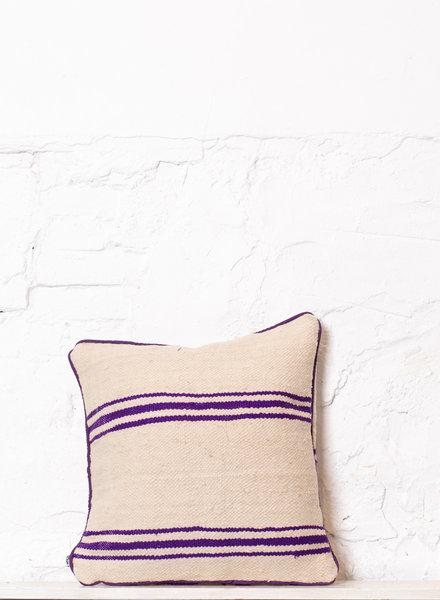 Berber stripe pillow 340