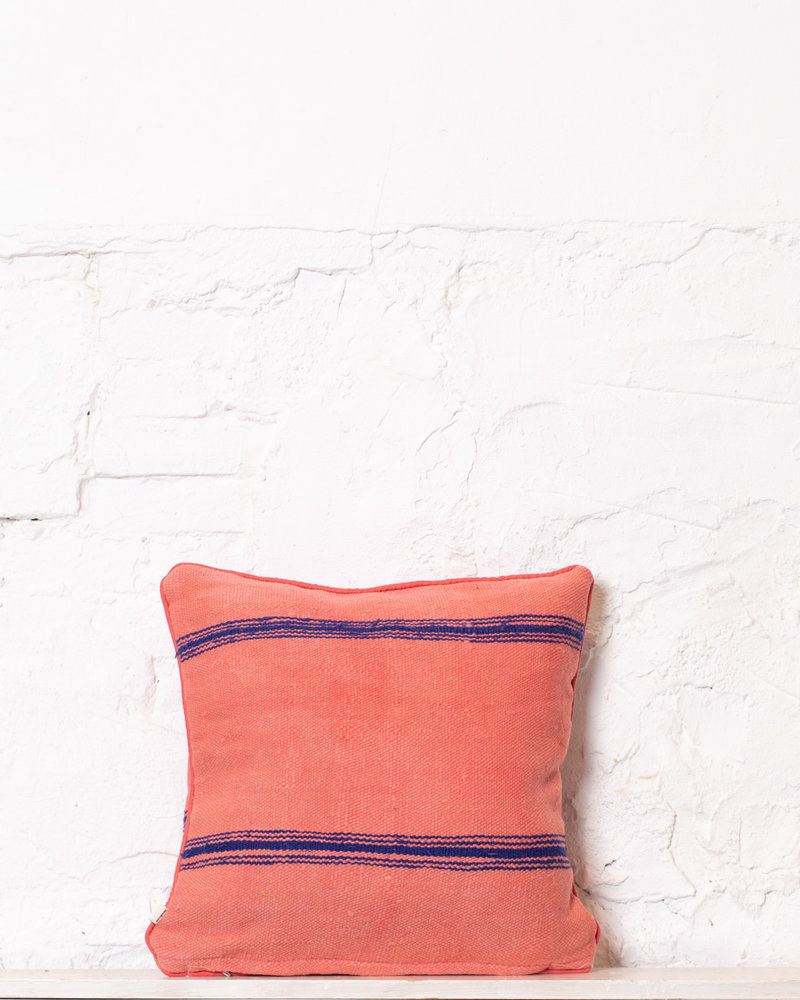 Authentic striped Berber pillow from Morocco 341