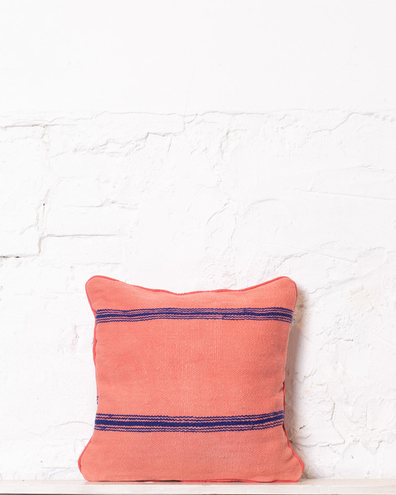 Authentic striped Berber pillow from Morocco 343