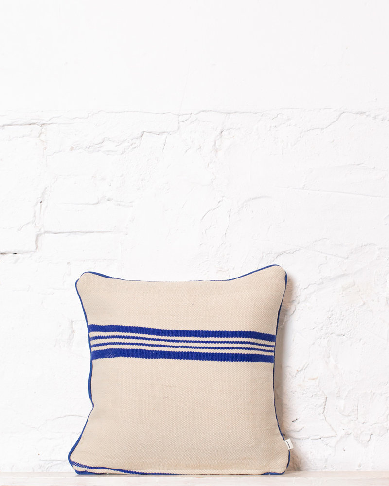 Authentic striped Berber pillow from Morocco 352