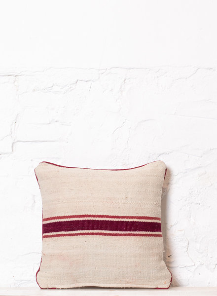 Berber stripe pillow 354