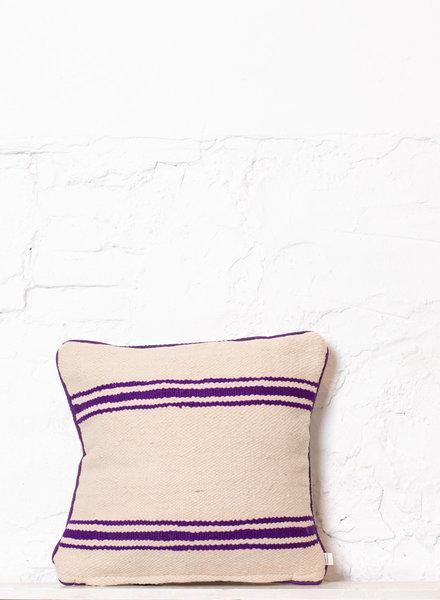 Berber stripe pillow 357