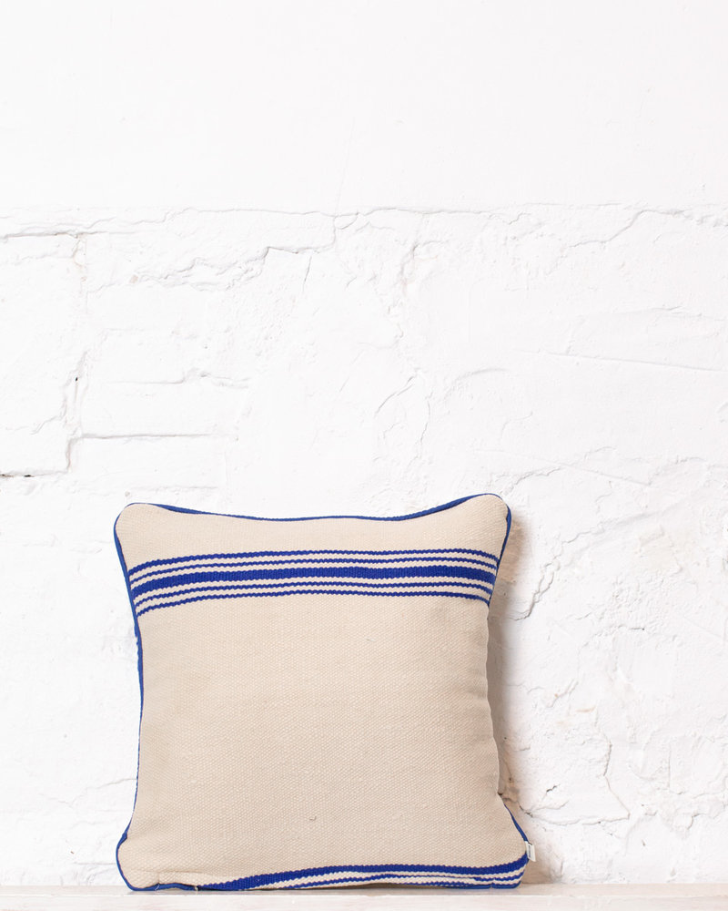 Authentic striped Berber pillow from Morocco 358