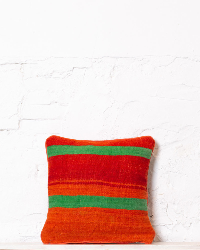 Authentic striped Berber pillow from Morocco 359
